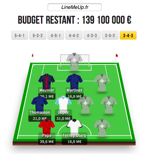 JDE Winamax - Fantasy Ligue 1 - France Pari Manager - PMU Fantasy League
