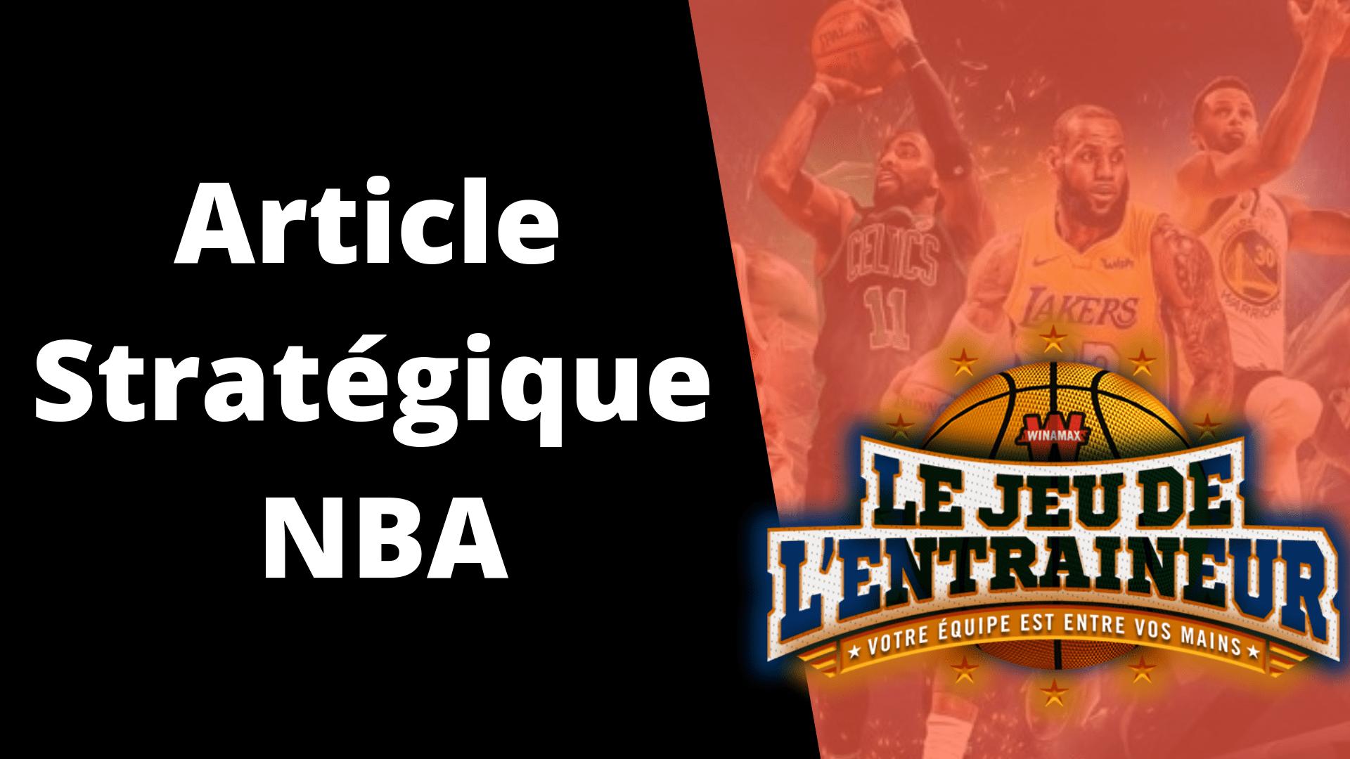 Stratégie JDE NBA